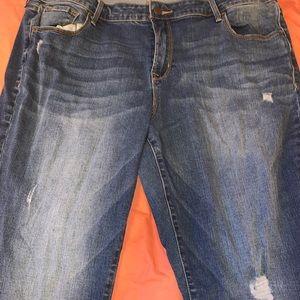 Old Navy Rockstar size 18 jeans